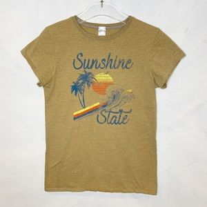 Sunshine State Palm Tree Heathered T-shirt